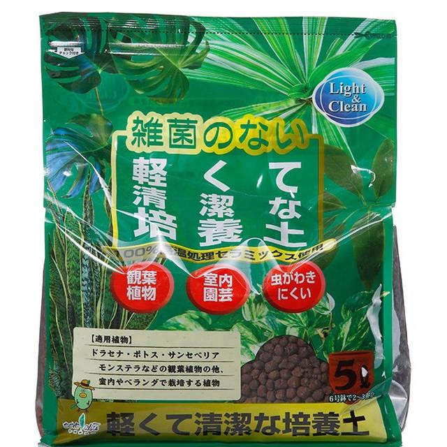 トヨチュー:軽くてきれいな培養土 5L