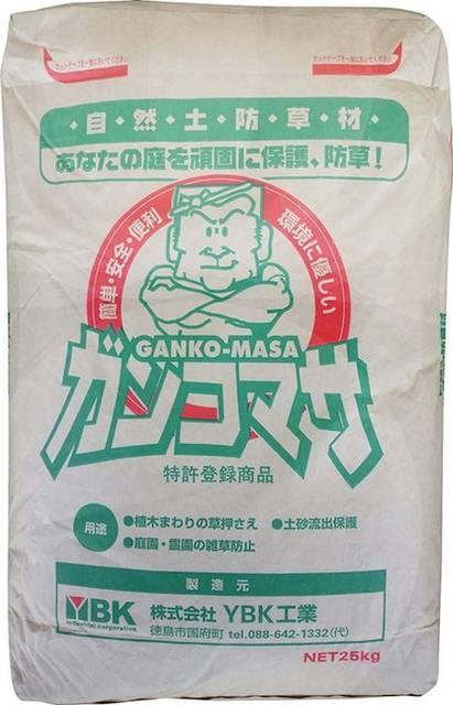 自然土防草材 ガンコマサ 25kg