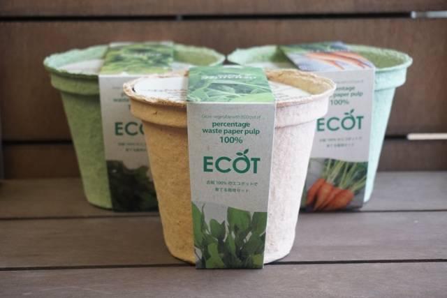 野菜 栽培セット 選べる3個セット エコットM3個 国...