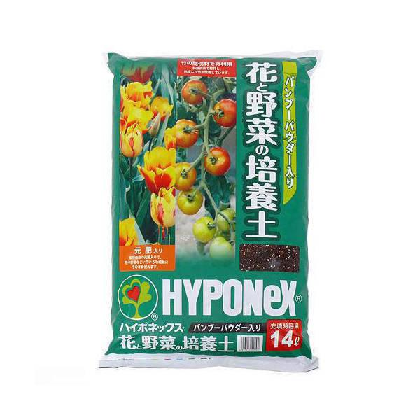 ハイポネックス バンブーパウダー入り 花と野菜の培養土...