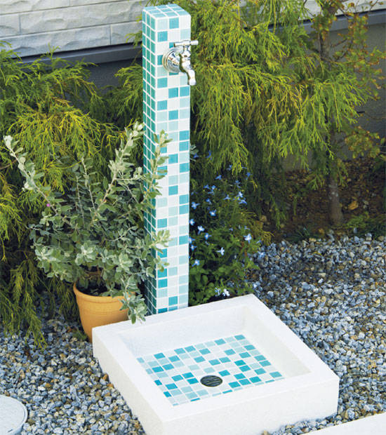 立水栓 モゼック+パンセット