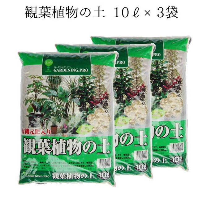 観葉植物専用の土 10L