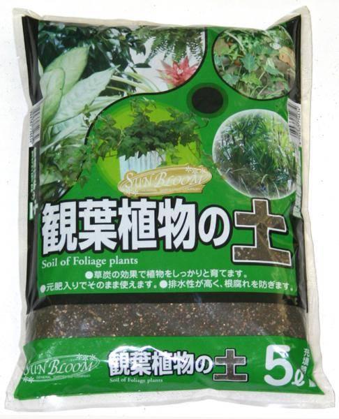 観葉植物の土 5L 元肥入り