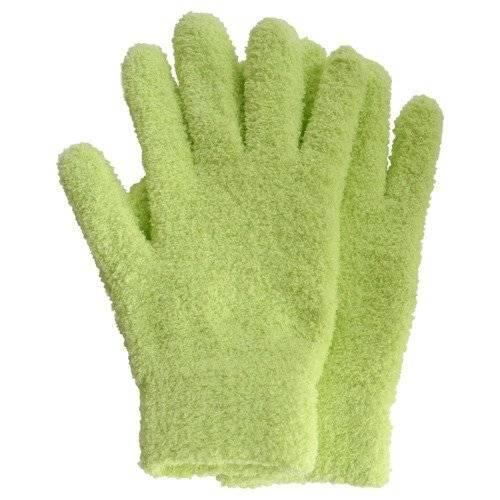 一色本店 葉っぱのほこり取り手袋/グリーン