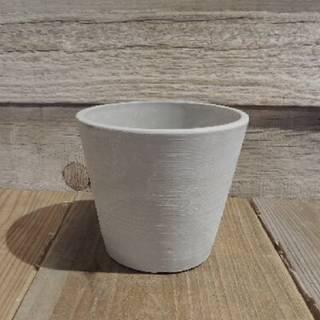 陶器のような質感が美しいプラスチック鉢です。鉢底に...