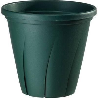 大和プラスチック 根はり鉢 6号 ダークグリーン