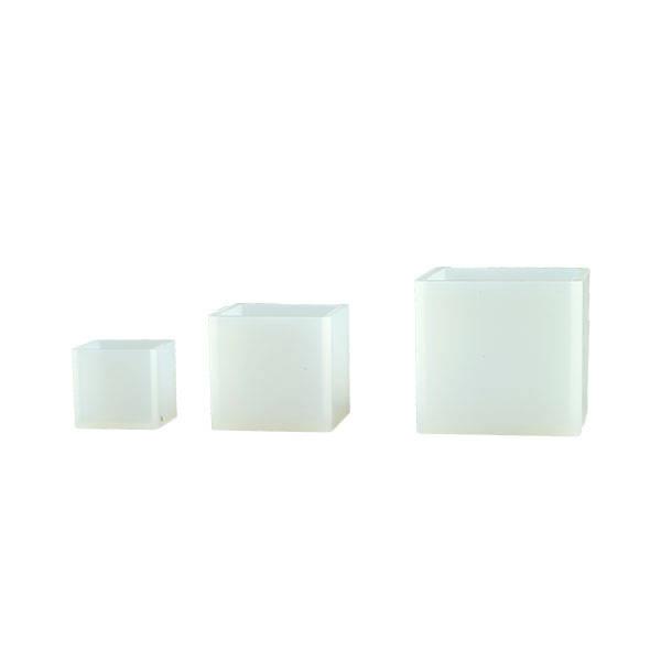 シリコン型正方形3コセット(鏡面加工)