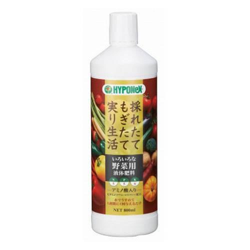 ハイポネックス - いろいろな野菜用液体肥料 - 800ML