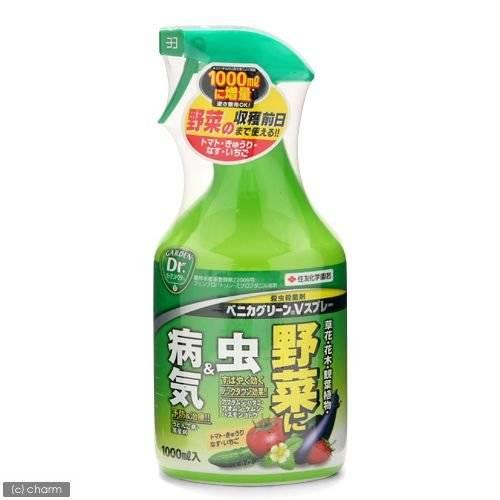 殺虫・殺菌剤 ベニカグリーンVスプレー 1000mL