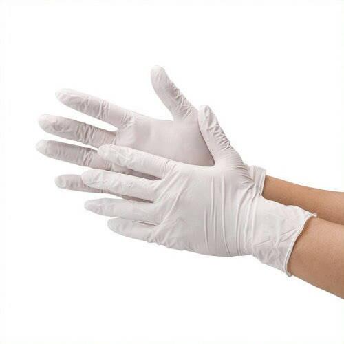 《川西工業》 ニトリル極薄手袋  粉なし